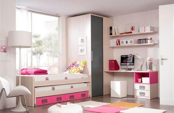21 dormitorios juveniles para espacios peque os - Dormitorios juveniles espacios pequenos ...