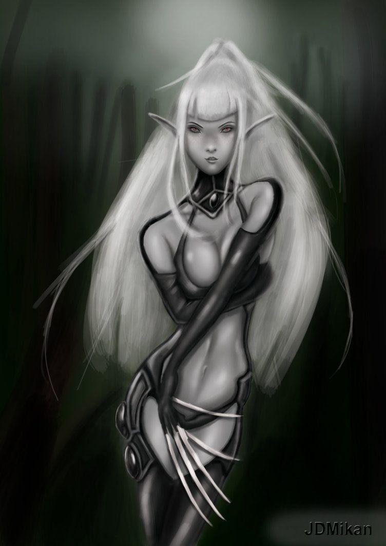 Pin On Dark Elf