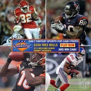 2012 Fantasy Football Rankings: Wide Receivers | http://FanSaloon.com/?ref=pinterest #NFL Blog