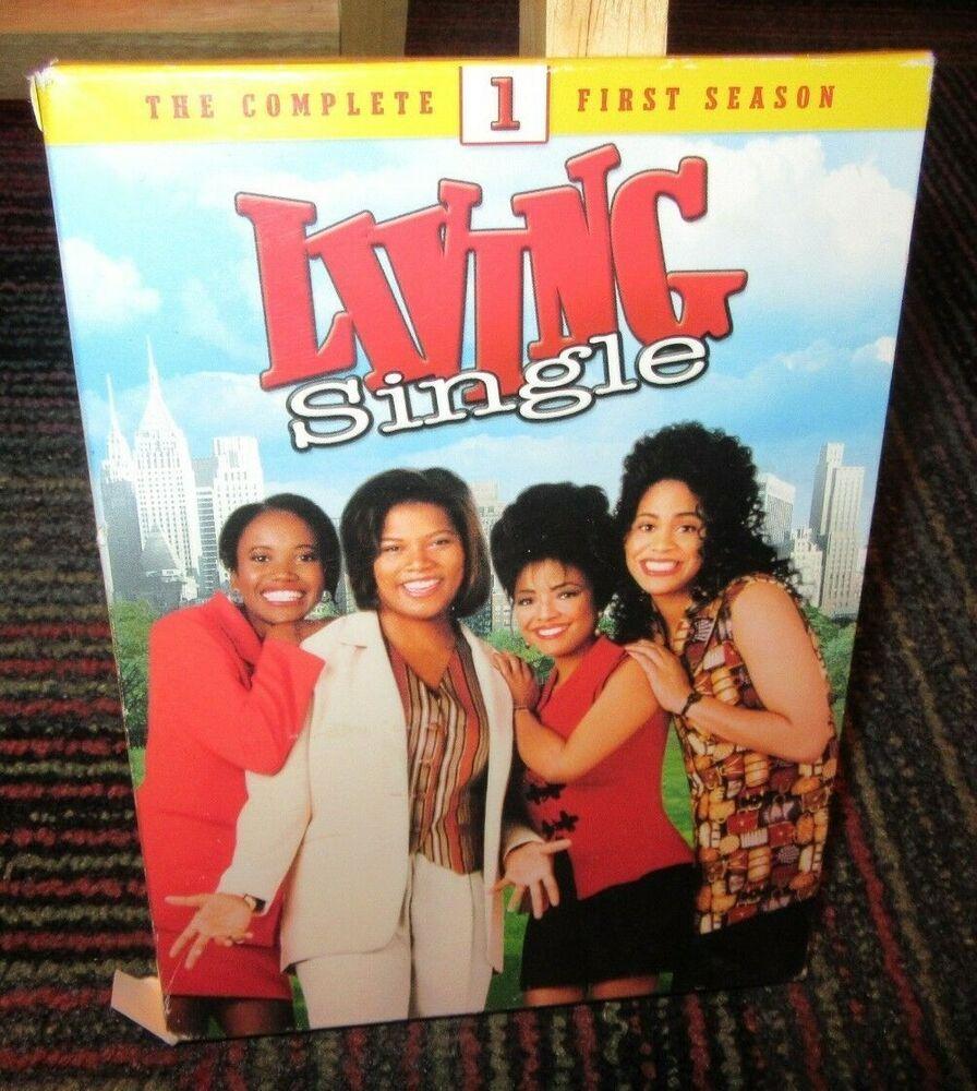 LIVING SINGLE: COMPLETE FIRST SEASON, 4-DISC DVD SET, 27 EPISODES