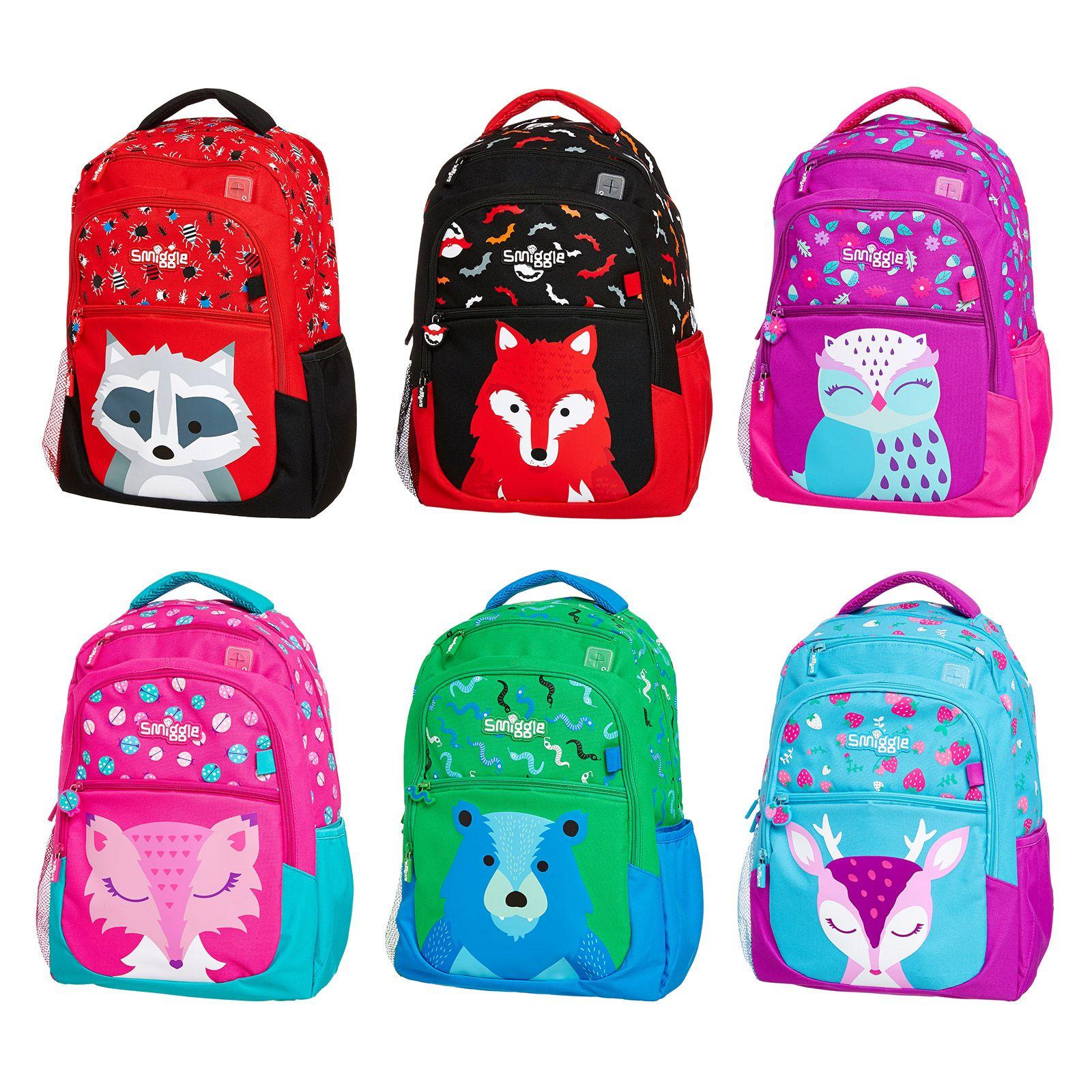 Smiggle bags for school - Woodlands Backpack Smiggle Uk