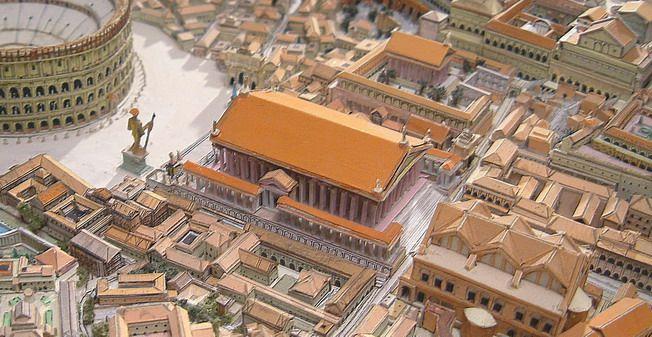 Tempio di Venere e Roma, Adriano