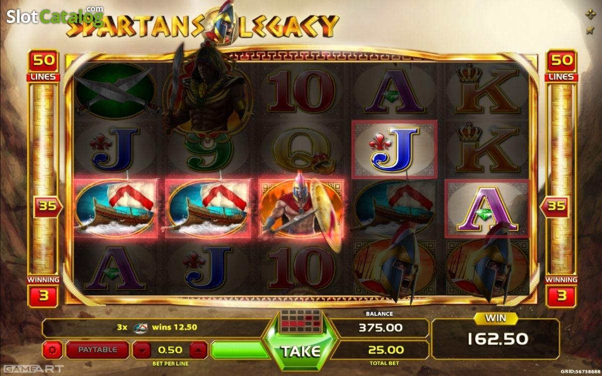 Spiele Spartans Legacy - Video Slots Online