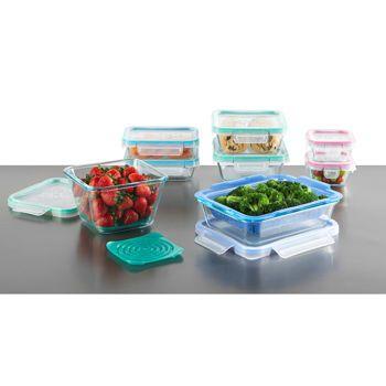 Snapware® Total Solution™ 19Piece Glass Food Storage Set