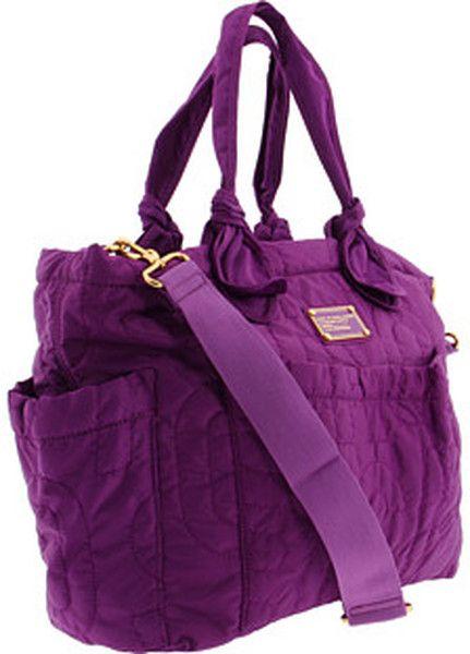 7ab0846f3ff Women's Purple Pretty Nylon Eliza Baby Bag   Diaper Bag   Bags ...
