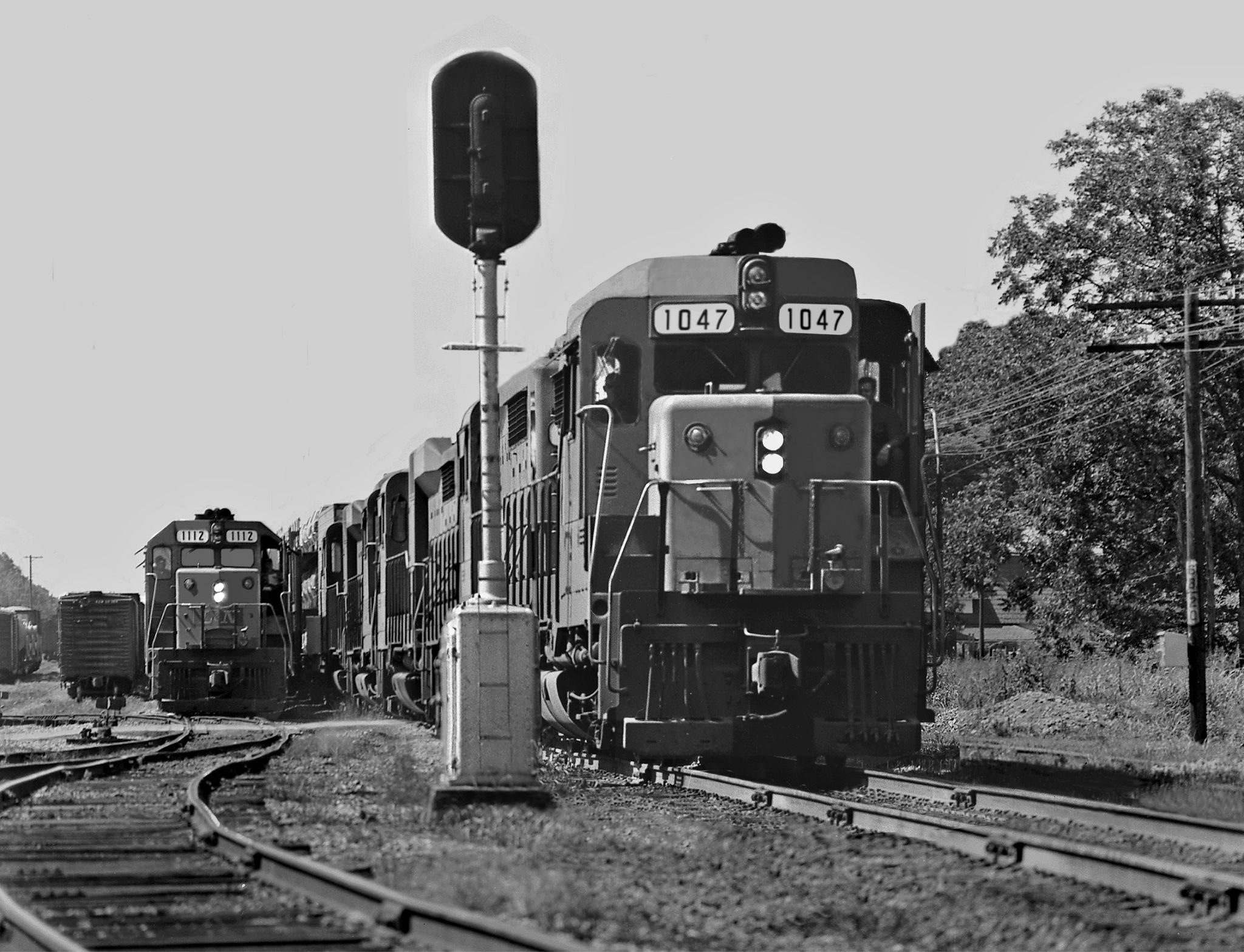 L&N, Tullahoma, Tennessee, 1965 Louisville and Nashville