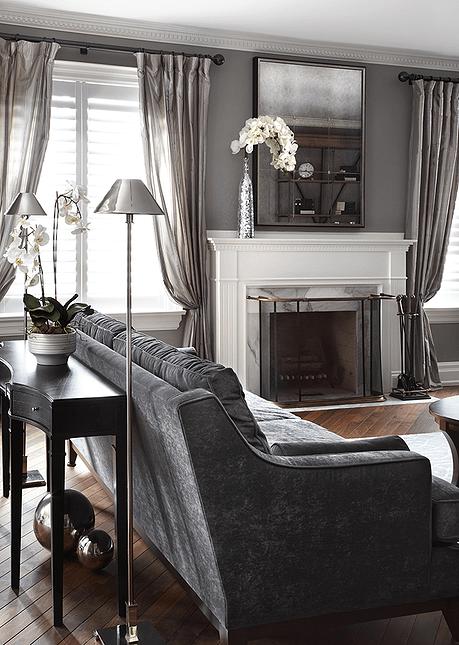 Anna Duval Interior Design Architecture D Interieur Paris France Living Room Grey Grey Walls Living Room Living Room White