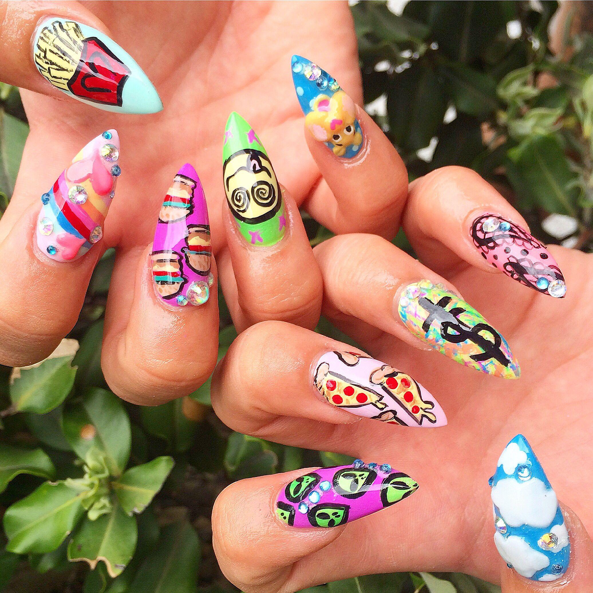 Adore dolls parlour getnailedright adoredollsparlour sexy nails prinsesfo Images