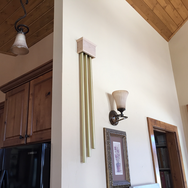 Custom ElectraChime Coronet Long Tube Door Chime In Colorado