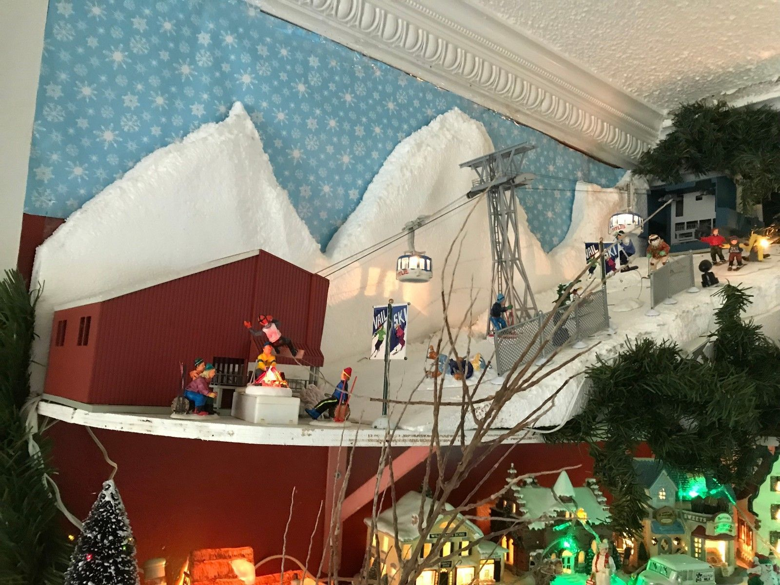 COMPLETE CHRISTMAS VILLAGE COLLECTION eBay Christmas
