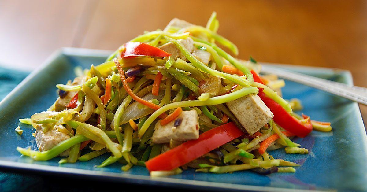 Slaw Stir-Fry With Tofu Broccoli Slaw Stir-Fry with Tofu Vegan Coleslaw vegan broccoli slaw stir fryBroccoli Slaw Stir-Fry with Tofu Vegan Coleslaw vegan broccoli slaw stir fry