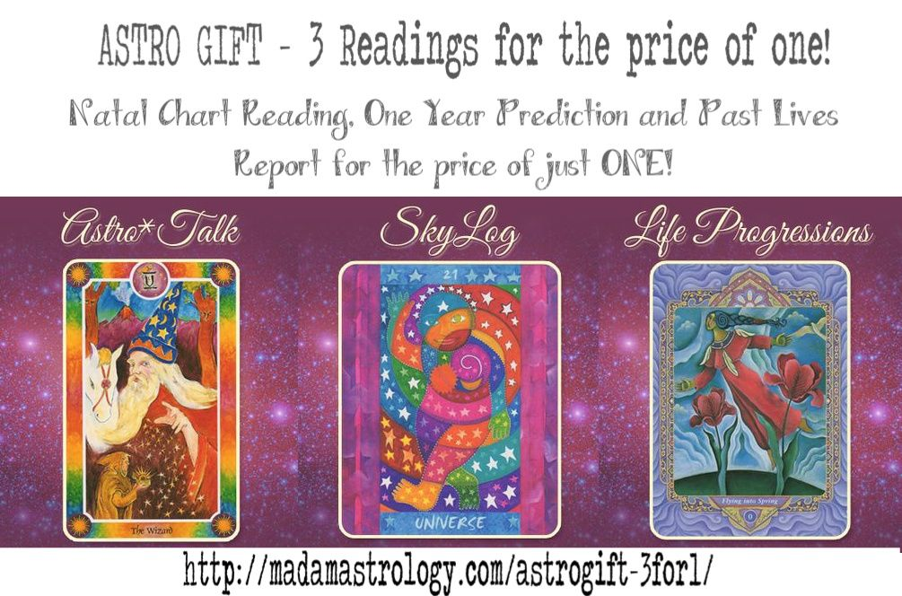 Free Astro Gift From Madam Astrology Get 3 Astro Readings Natal