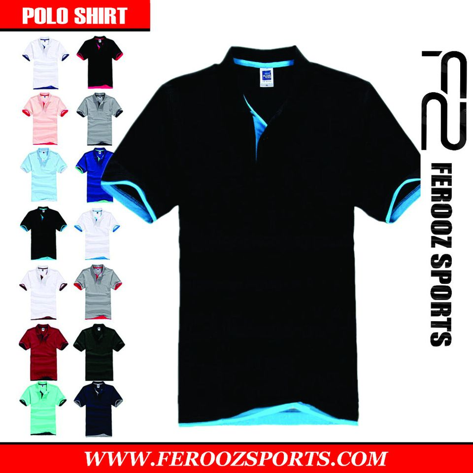 Custom Polo Shirt High Quality Mens Custom Embroidered Or Printed