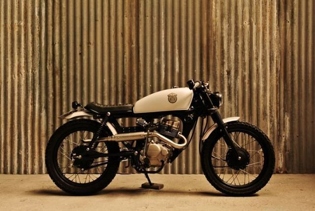 honda cg 125 cafe racer by caffeine custom motorcycles caferacer motos. Black Bedroom Furniture Sets. Home Design Ideas