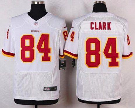 bf32f658f Washington Redskins  84 Gary Clark White Retired Player NFL Nike Elite Men s  Jersey