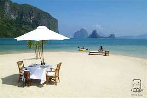 Palawan.. It's more fun in the Philippines..