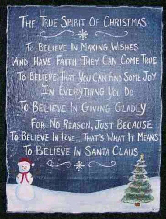 The Spirit Of Christmas Quotes