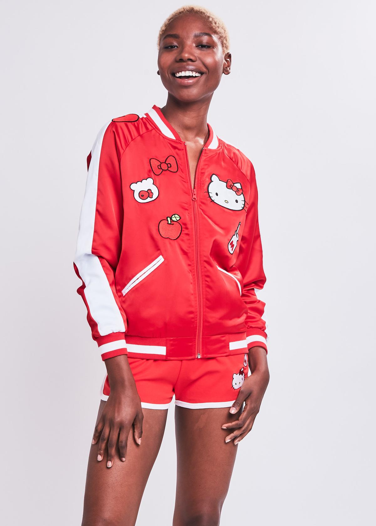 Hello Kitty Bomber Jacket | NYLON SHOP