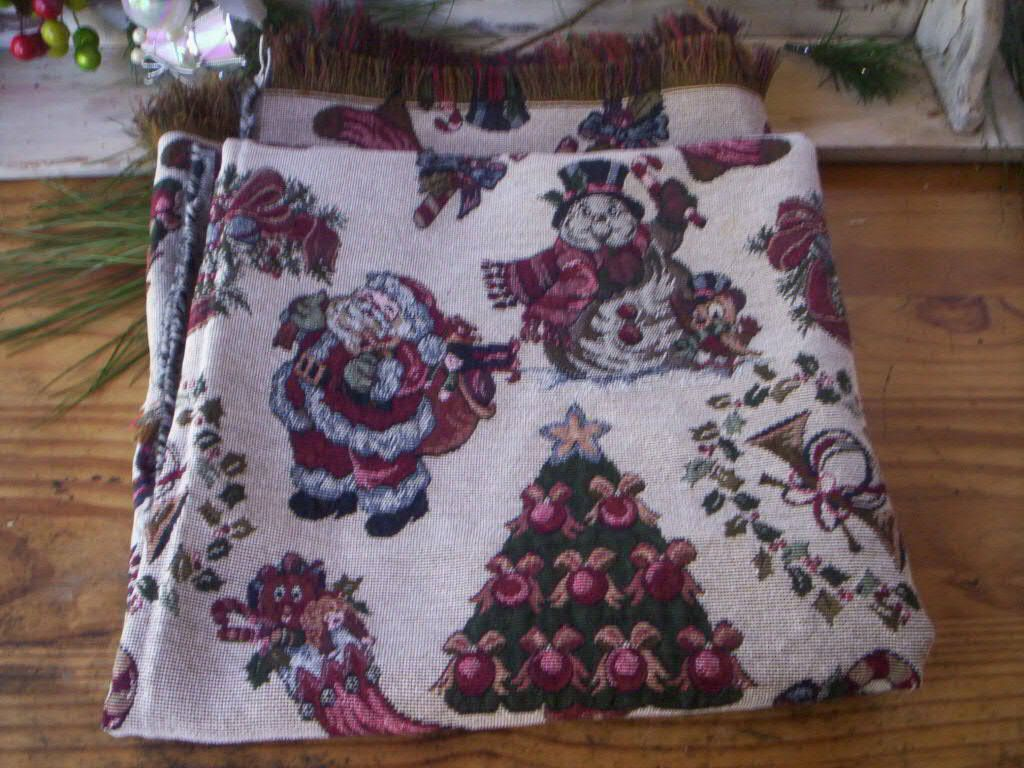 Woven cotton fabric/Holiday Decor Throw/Woven Tapestry ...