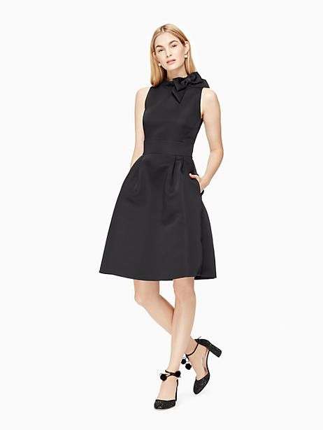 763d646cb9 Kate Spade Bow Fit And Flare Dress