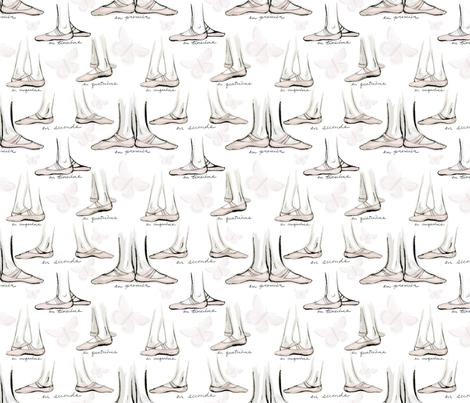 ballet fabric by atlanticmoira on Spoonflower - custom fabric