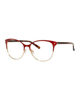 ce86fe204d8c Semi-Rimless Fashion Glasses in 2019 | Clothing and Accessories ...