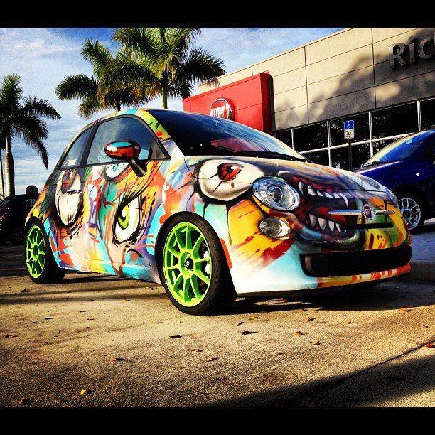 Monster Car Wrap Carwrap Graphic Cool Car Paint Jobs Vehicle