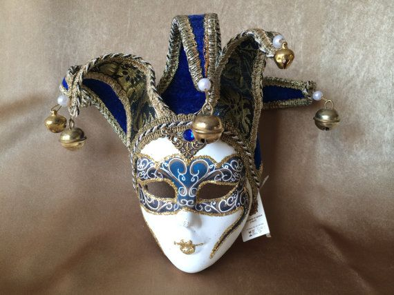Harlequin Mask Maschera Del Galeone Wall Hanging Mask
