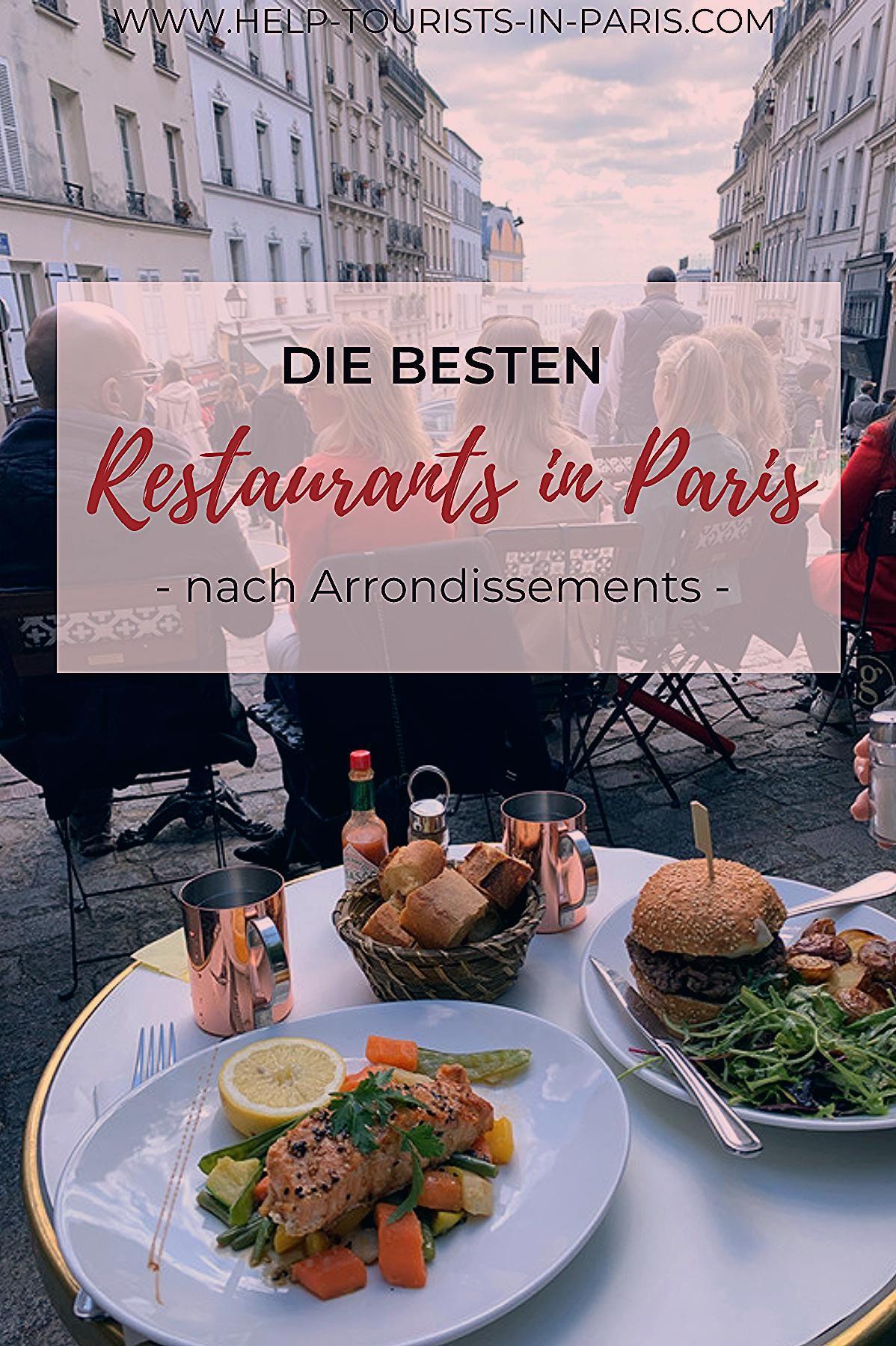 Restaurantempfehlungen für Paris
