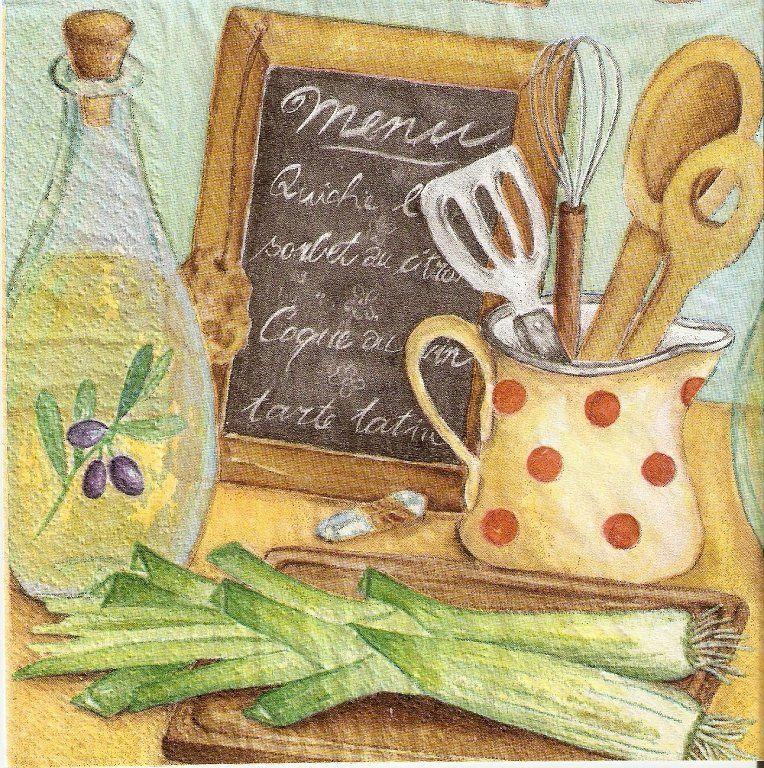 Cuadro para cocina cuadros y dibujos pinterest - Laminas vintage para cocina ...