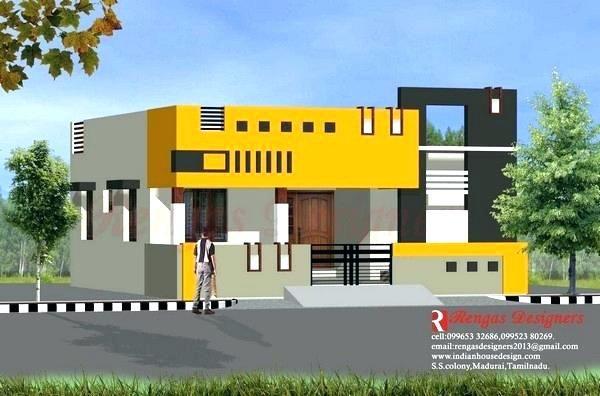 Tyuka Info Single Floor House Design House Design House Front Design House front design indian style single floor