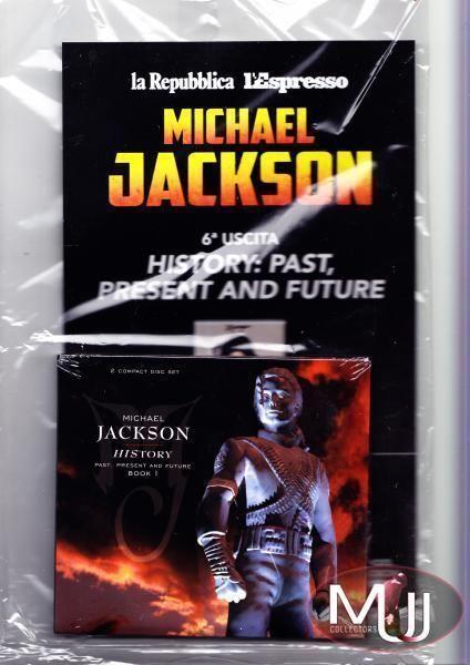 MICHAEL JACKSON HISTORY L'ESPRESSO/REPUBBLICA NEW 2 CD FROM