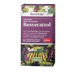 Resvitale Resveratrol 500mg Resvitale Gnc Con Imagenes