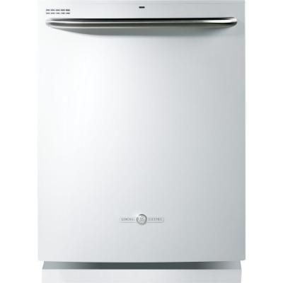 ge artistry top control dishwasher in white with steam prewash at the home depot tablet