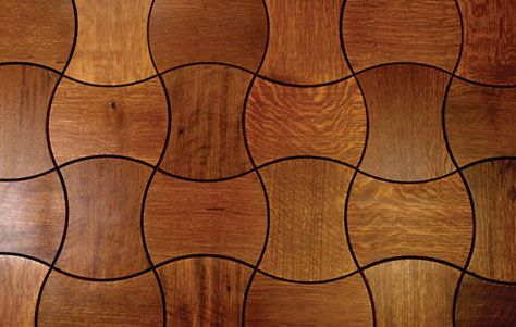 Jamie Beckwith S Enigma Collection Of Interlocking Wooden Tiles Flooring Wood Floor Design Wooden Flooring