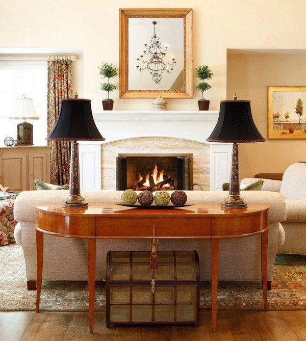 Sofa Table How To Choose And Use Them In The Interior Design