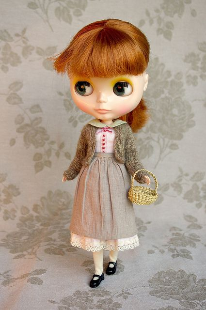 Gentil coq'licot | Blythe clothes for dolls : tutorial : Kikihalb ♧ Forest~Tales ♧