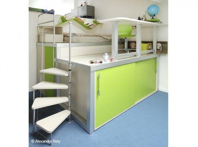 60 lits mezzanine pour gagner de la place elle décoration pinterest