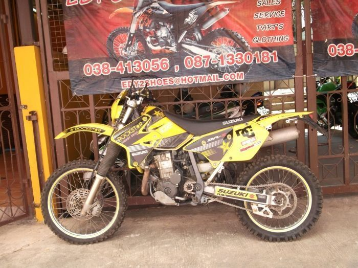 2006 Suzuki Drz400 S Model Rockstar Energy Graphics Just Had A Service And New Chain
