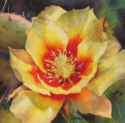 Delicious visuals from the Desert Southwest, paintings by Vikki Reed