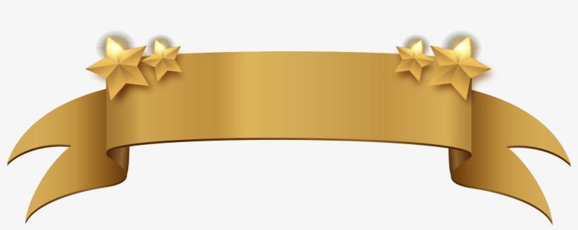 Golden Clipart Title Banner Gold Banner Ribbon Png Transparent Png Ribbon Png Gold Banner Rose Gold Banner