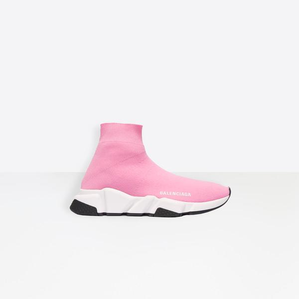 Speed Lace Up Sneaker Black for Women