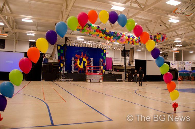 Dance Marathon Set Up I Just Want Balloons Dance Marathon