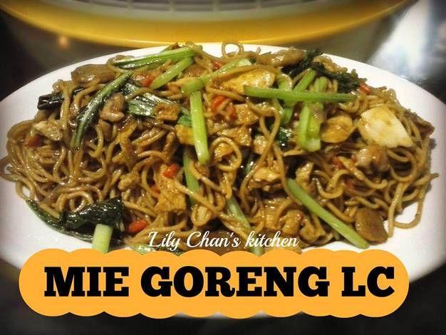 Mie Goreng Ala Lc Versi Chinese Resep Resep Makanan Resep Masakan