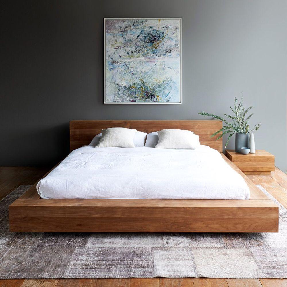 Teak Madra Bed Australian Size Originals Furniture Modern