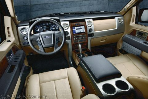 Not Your Grandfather S Truck Interior 2012 Ford F 150 Lariat