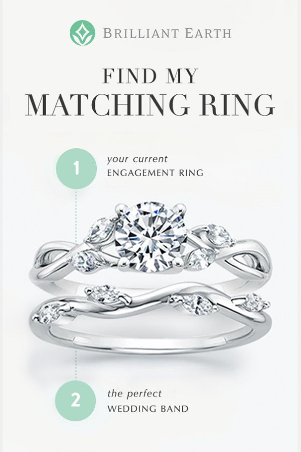 Choose Your Engagement Ring Then Use Our Matching Wedding Ring Tool To Create A Wedding Ri Matching Wedding Rings Matching Wedding Ring Sets Wedding Ring Sets