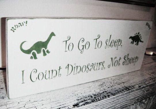 Dinosaur Nursery Signs Dinosaur decorations by deSignsOfExpression