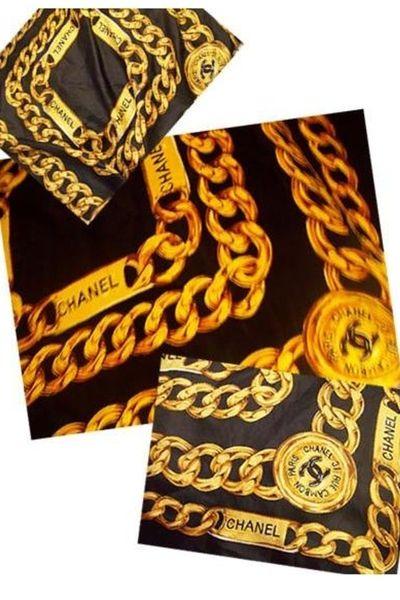 11513928211 chanel scarf