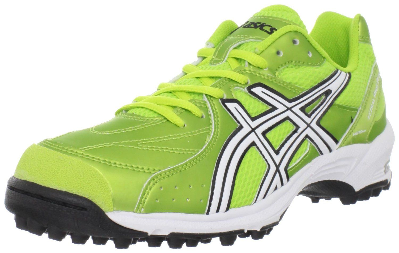 8eb14066f34 asics gel lethal shot turf shoe in lime green!